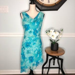 Alyn Paige Floral Print Dress Size 9/10